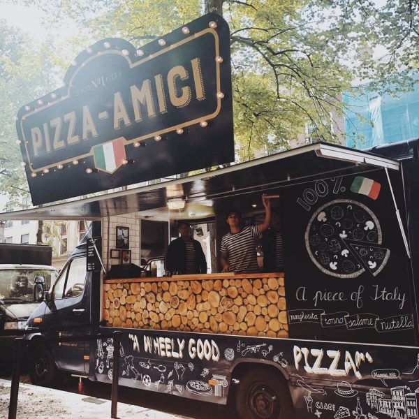 Foodtruck in Den Haag